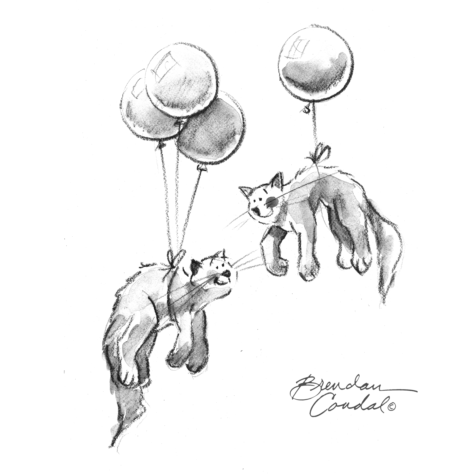 Balloons Drawing