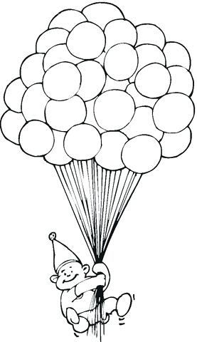 277x480 Balloon Coloring Pages Together With Drawing Hot Air Balloon
