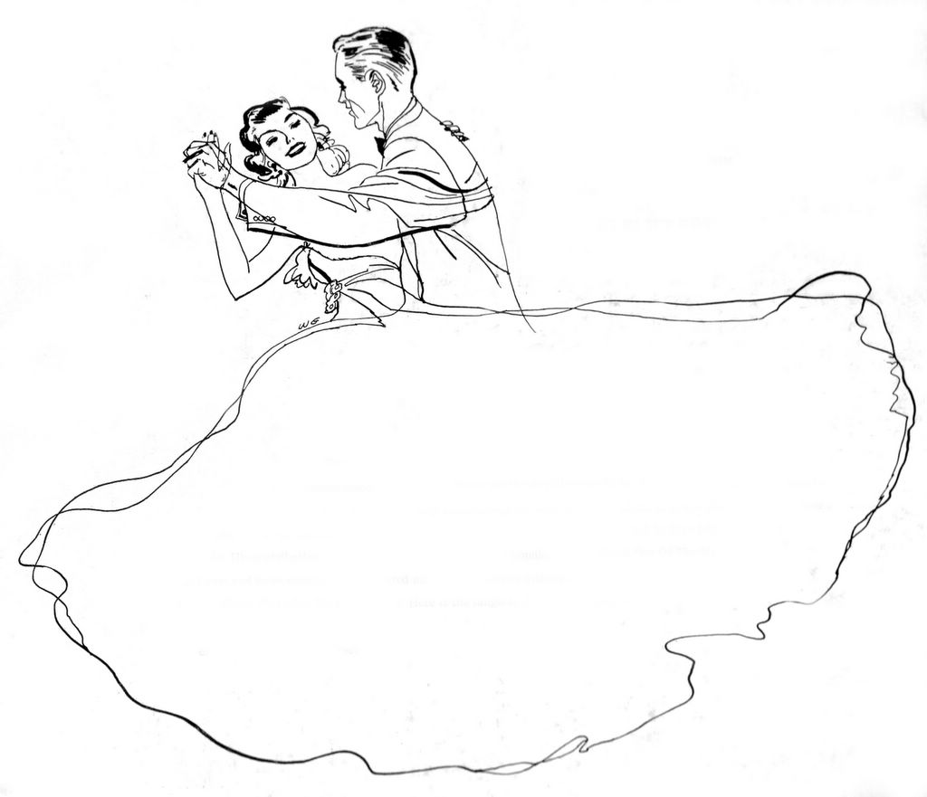 1024x881 Image Result For Ballroom Dancing Drawing Utees