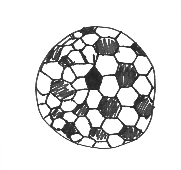 612x576 How To Draw A Soccer Ball A Project By Micah Lexier For The Inc
