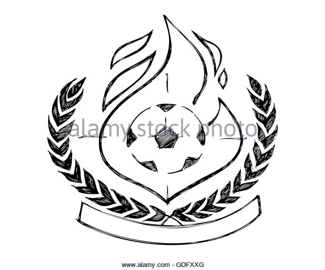 640x532 Illustration Drawing Soccer Ball Fire Stock Photos Amp Illustration