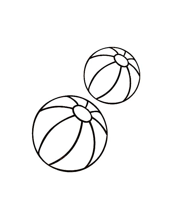 600x776 Two Balls Toys Coloring Pages Best Place To Color