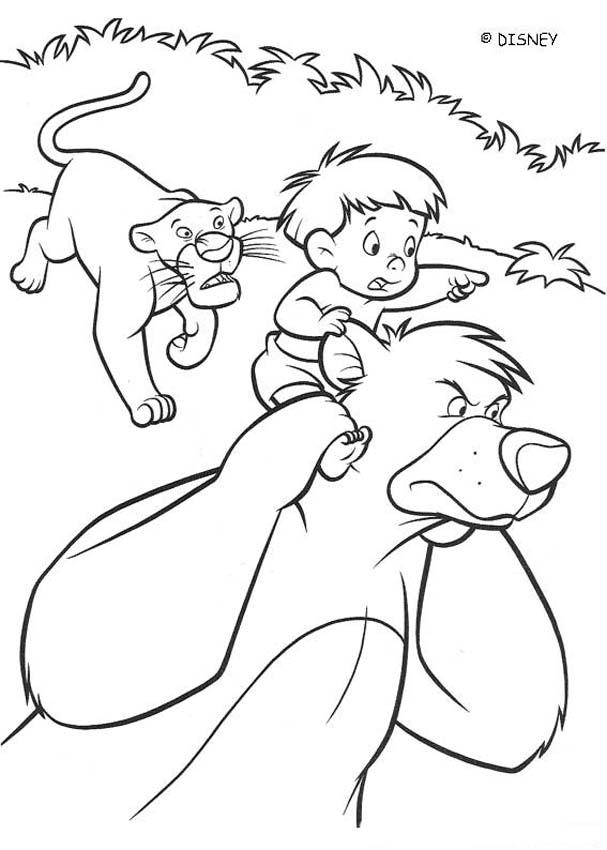 607x850 Jungle Book Coloring Page The Pages Monkey