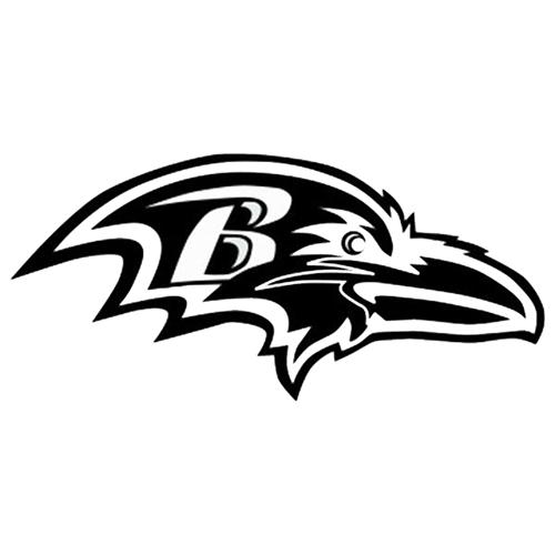 500x500 Baltimore Ravens Nfl Die Cut Vinyl Decal Pv623