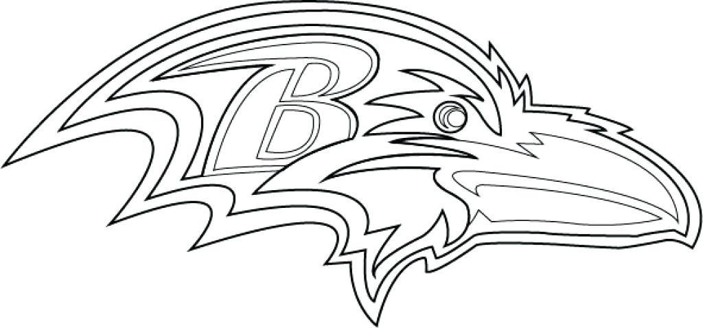 1024x478 Sensational Ravens Coloring Page Baltimore Super