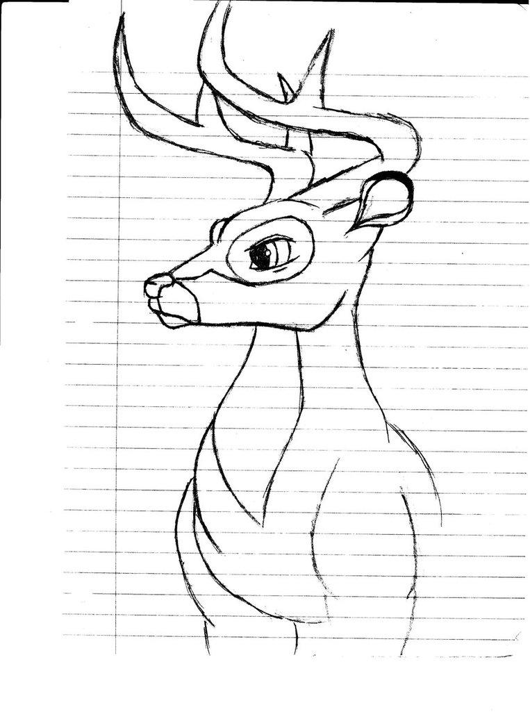 Bambi Drawing