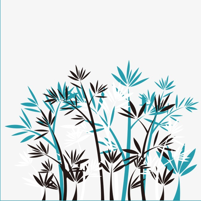 650x650 Drawing Bamboo, Ink, Watercolor, Black Bamboo Png Image For Free
