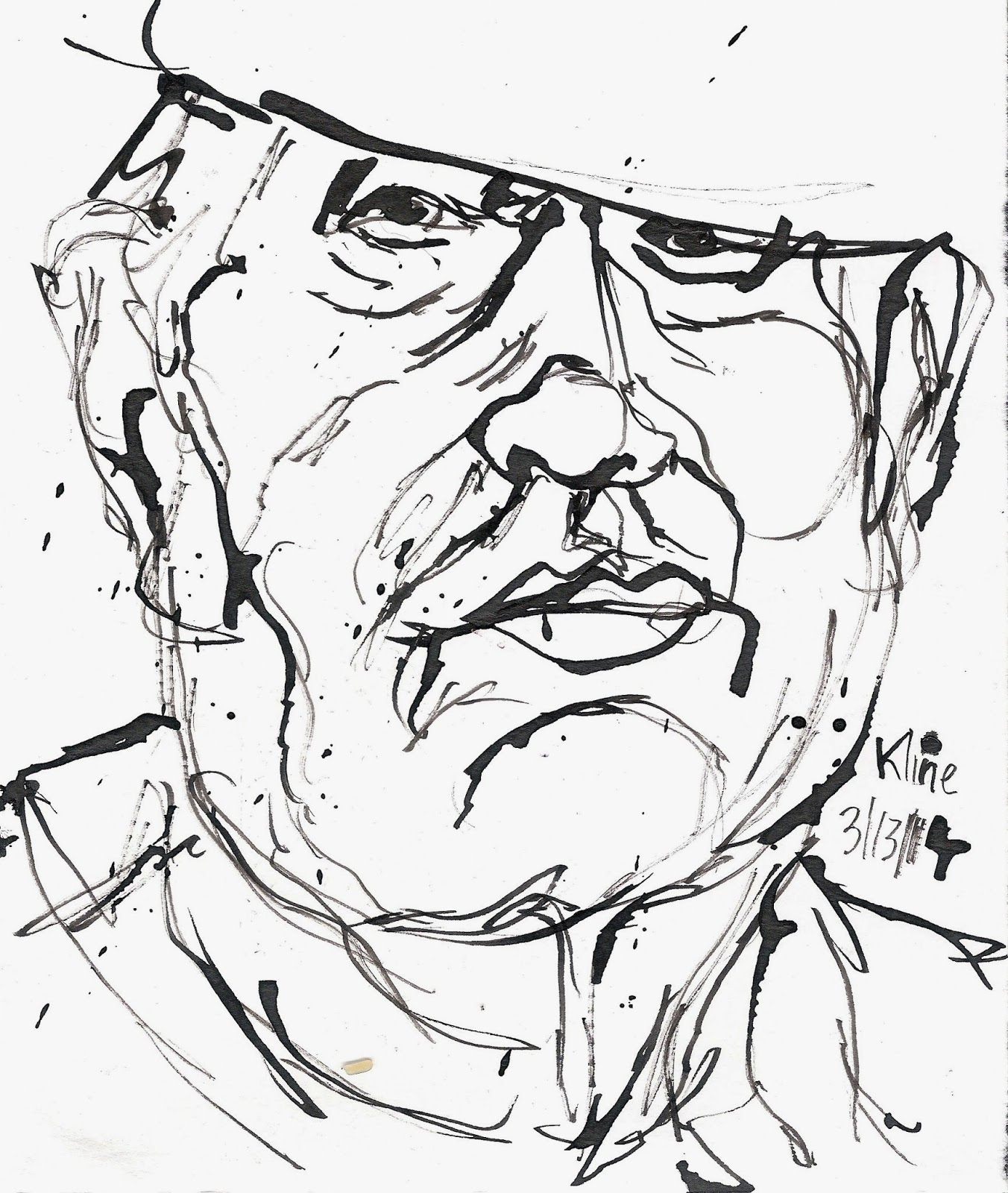 1352x1600 Occasional Musings And Scratchings March Quick Drawings