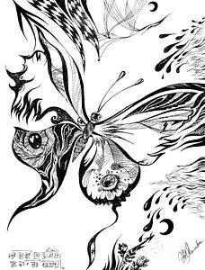 228x300 Abstract Pencil Drawings