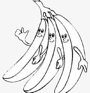 290x300 Banana Hand Drawing, Cartoon, Black And White, Funny Png Image