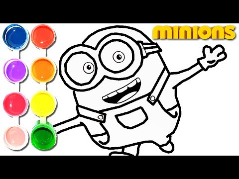 480x360 How To Draw Amp Color The Minions Banana Drawing On Amp New Learning