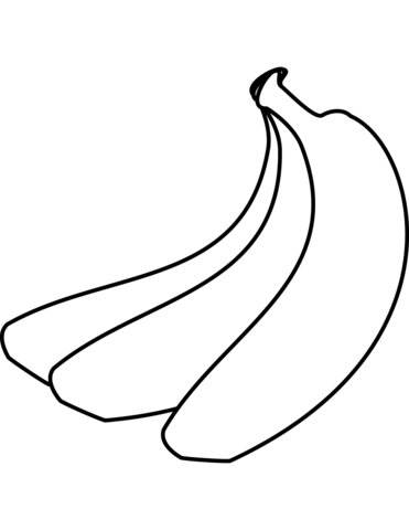 371x480 Bananas Coloring Pages Free Coloring Pages