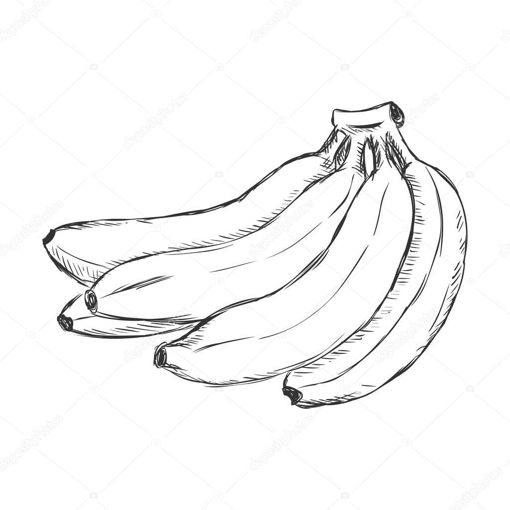 1024x1024 Cartoon Bunch Of Bananas Stock Vector Nikiteev