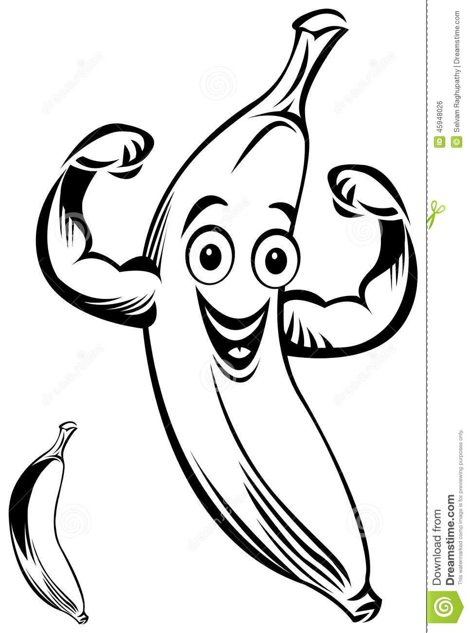 966x1300 Drawn Banana Bannana
