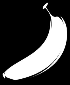 246x297 Banana Outline Fat Clip Art