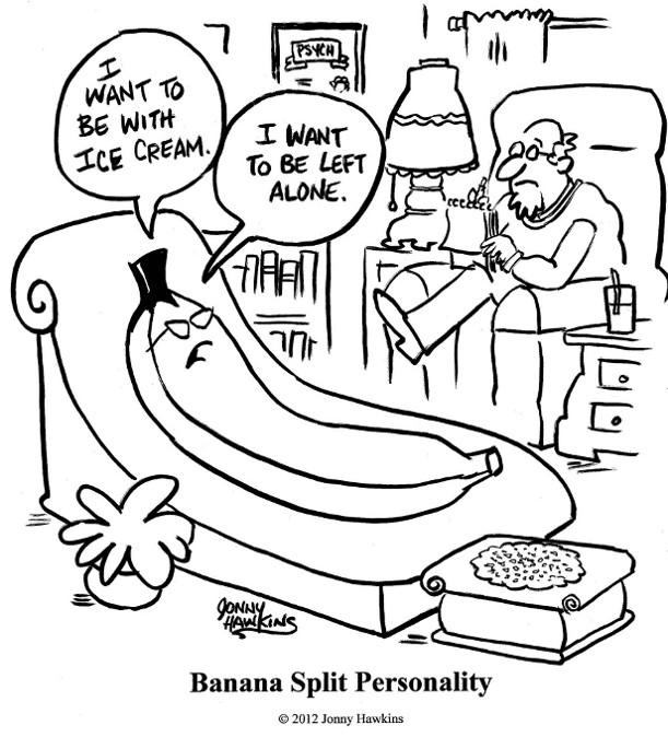 611x674 Banana Split By Jonny Hawkins