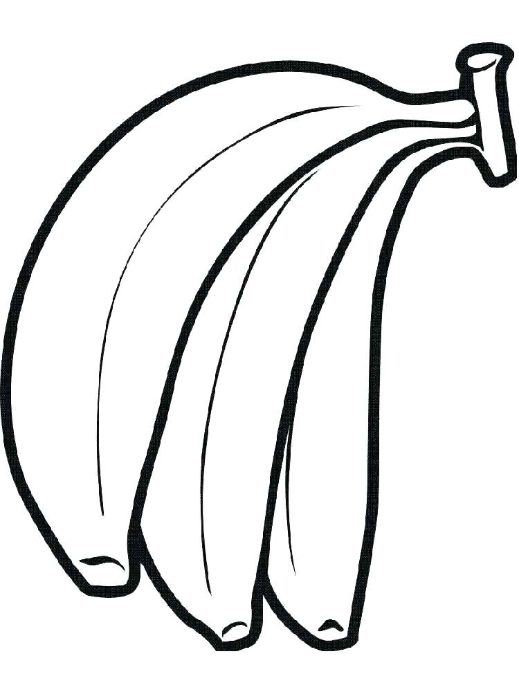 750x1000 Banana Split Coloring Page Joandco.co