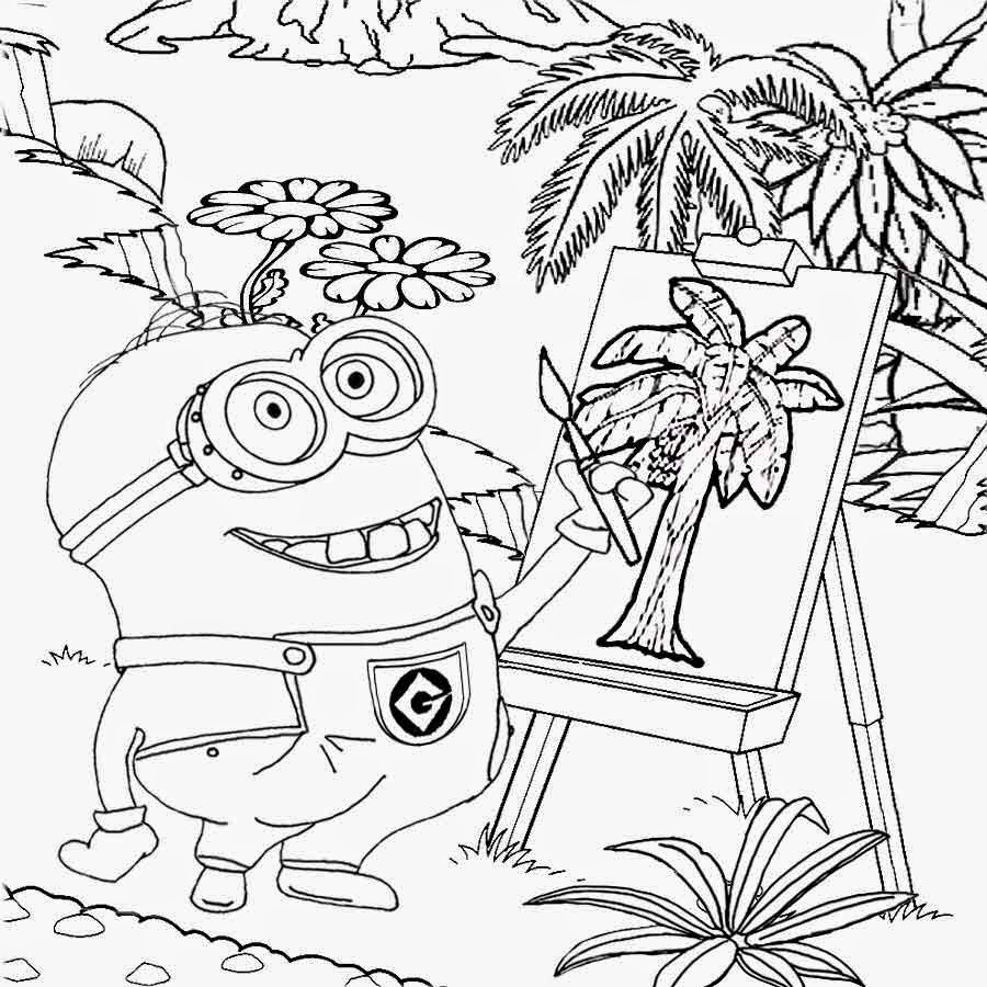 900x900 Drawing Clipart Minion