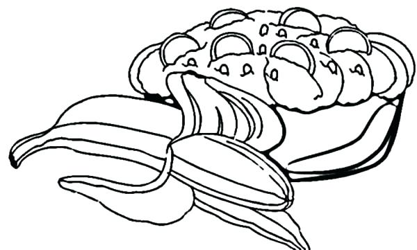600x361 Banana Split Coloring Page Click The Banana Split Coloring Pages