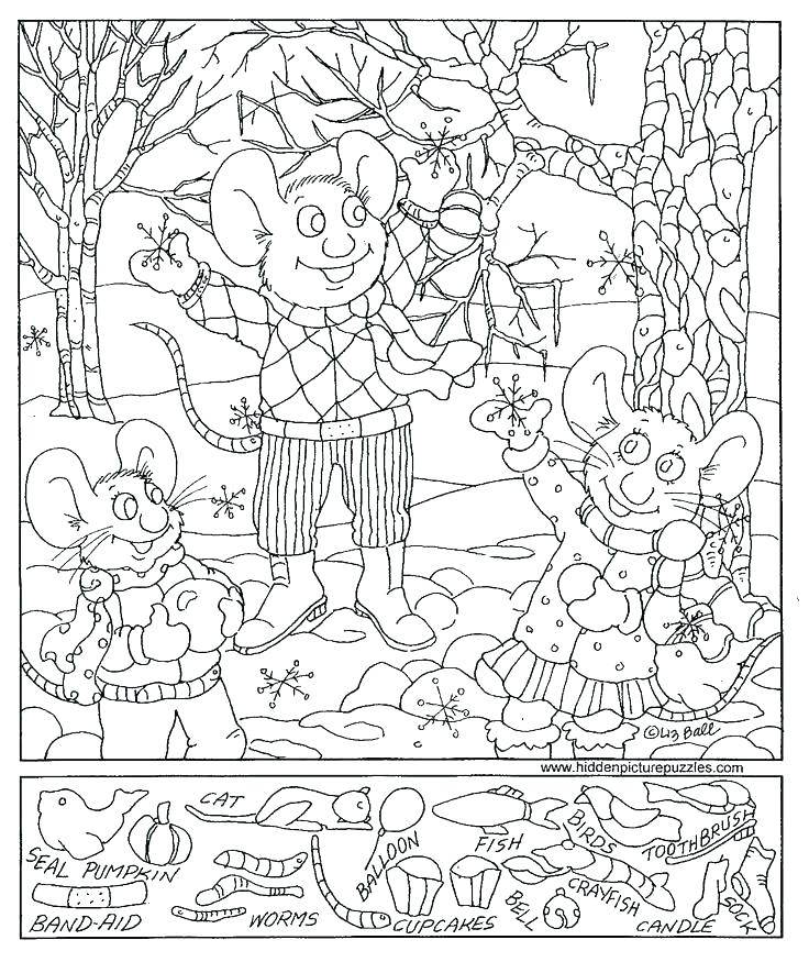 736x875 Hidden Pictures Coloring Pages Amazing Hidden Picture Coloring