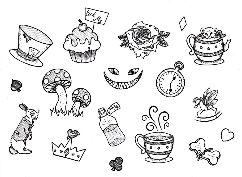 1024x747 Illustration Wonderland By Bandaid