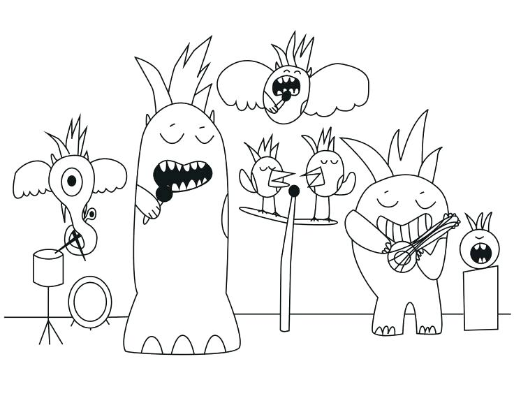 736x567 Band Aid Coloring Page