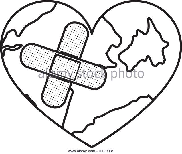 638x540 Band Aid Heart Stock Photos Amp Band Aid Heart Stock Images