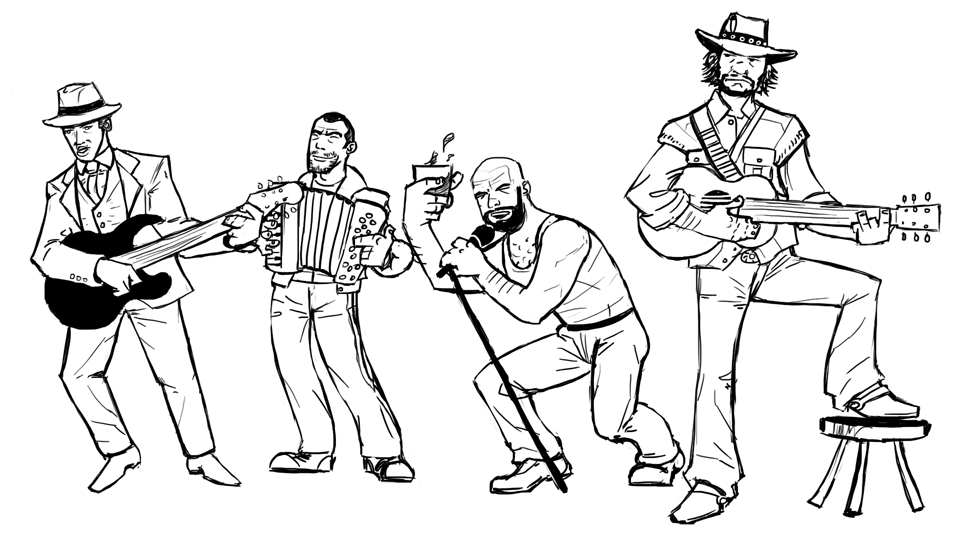 The Best Free Band Drawing Images  Download From 550 Free