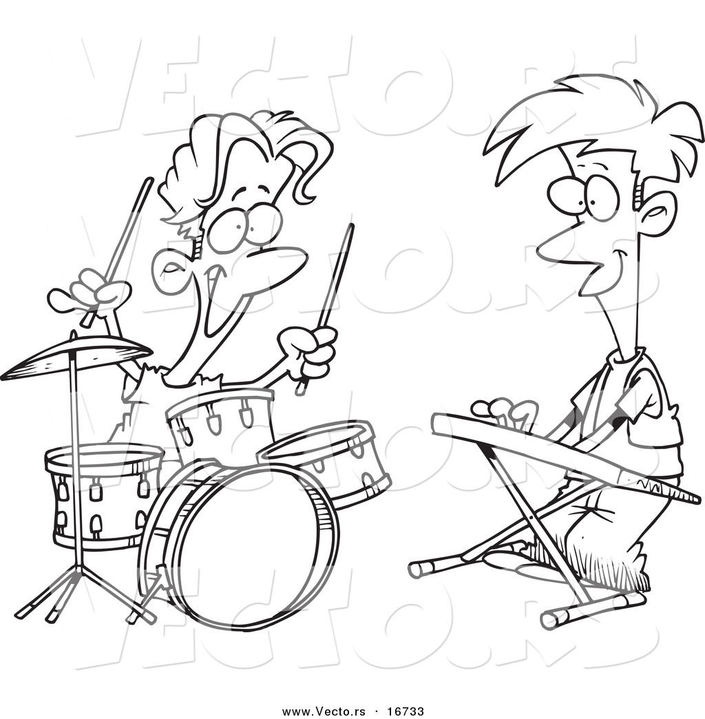 Band Drawing at GetDrawings com | Free for personal use Band
