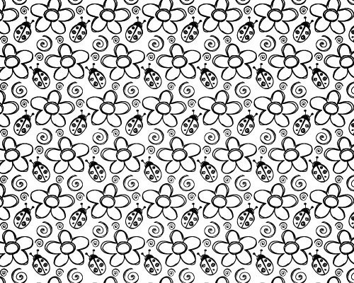 Bandana Pattern Drawing