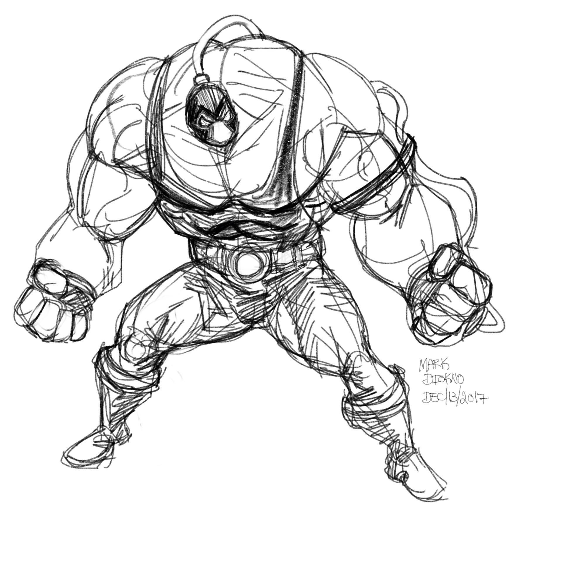 Bane Drawing