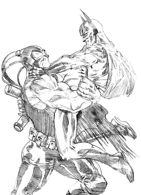 Bane Drawing at GetDrawings | Free download