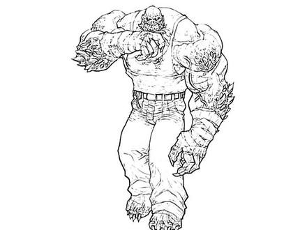 440x330 Splendid Ideas Killer Croc Coloring Pages Drawing Bane Batman Best