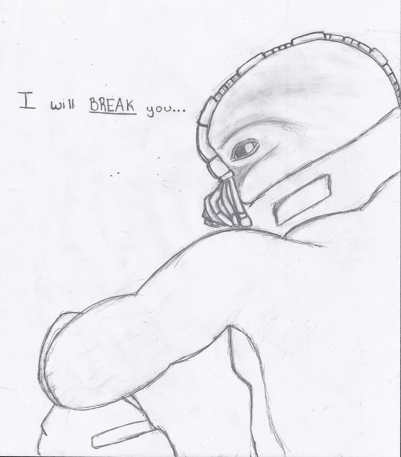 Bane Drawing at GetDrawings | Free download