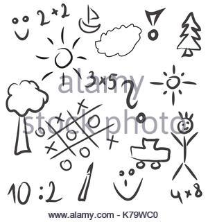 300x320 Kid Drawings Pattern Background Beautiful Banner Wallpaper Design