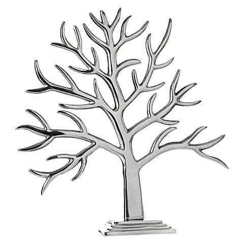 480x480 Baobab Tree, Silver, Large By Casa Uno Zanui