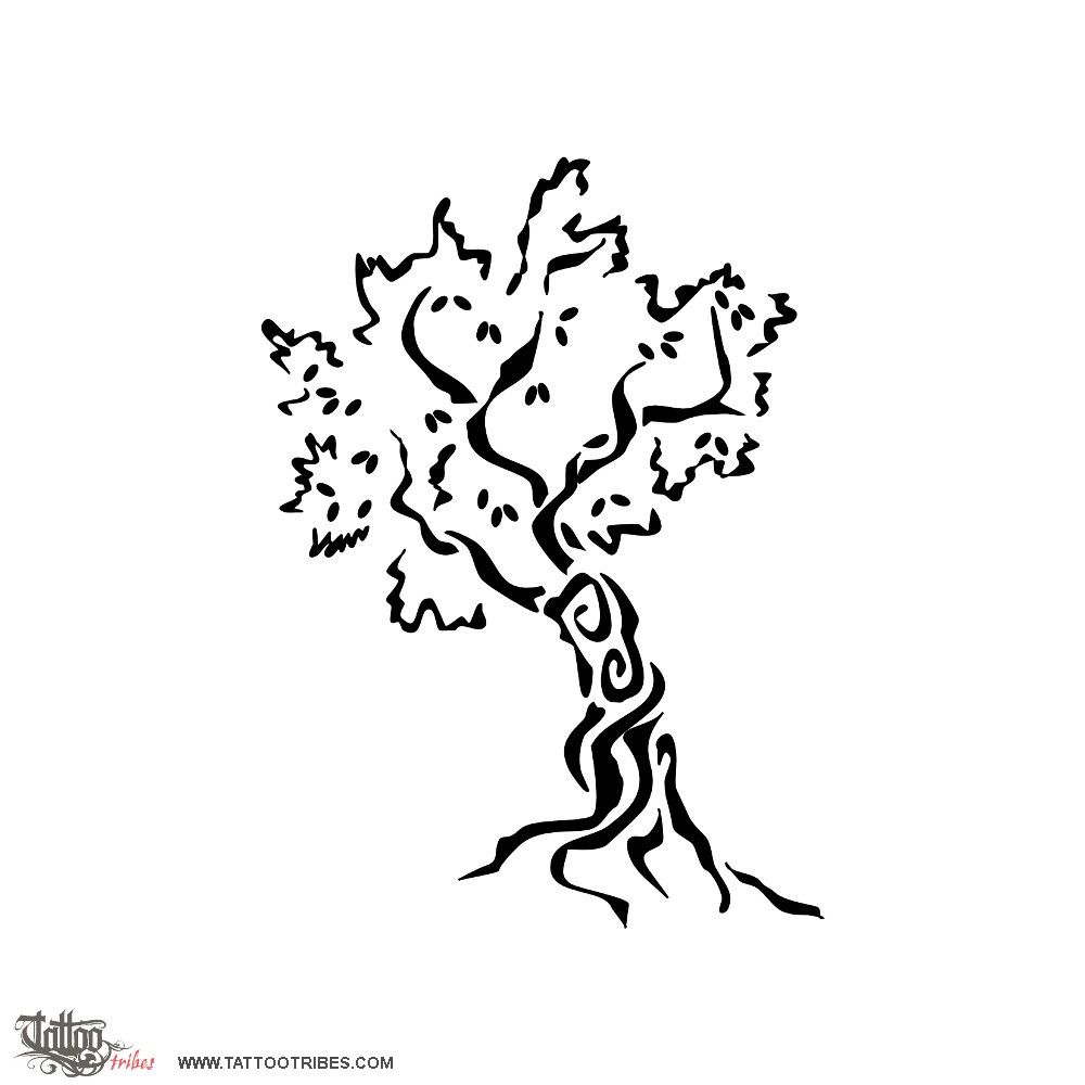 1000x1000 Tattoo Of Baobab Tree, Life Tattoo