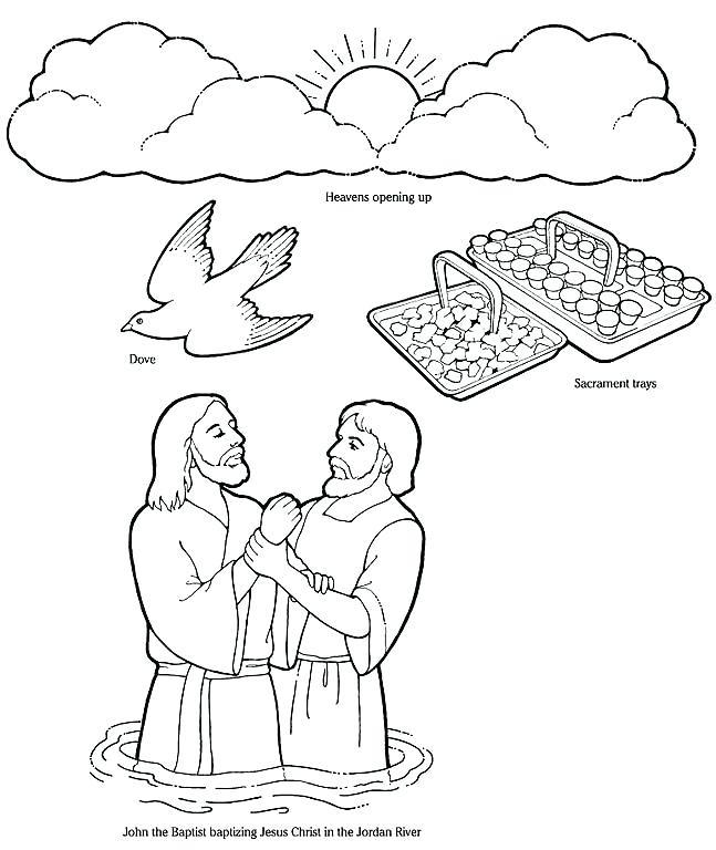 647x768 Holy Spirit Coloring Pages Stylish Decoration Baptism