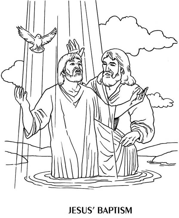 Baptism Drawing at GetDrawings.com | Free for personal use ...
