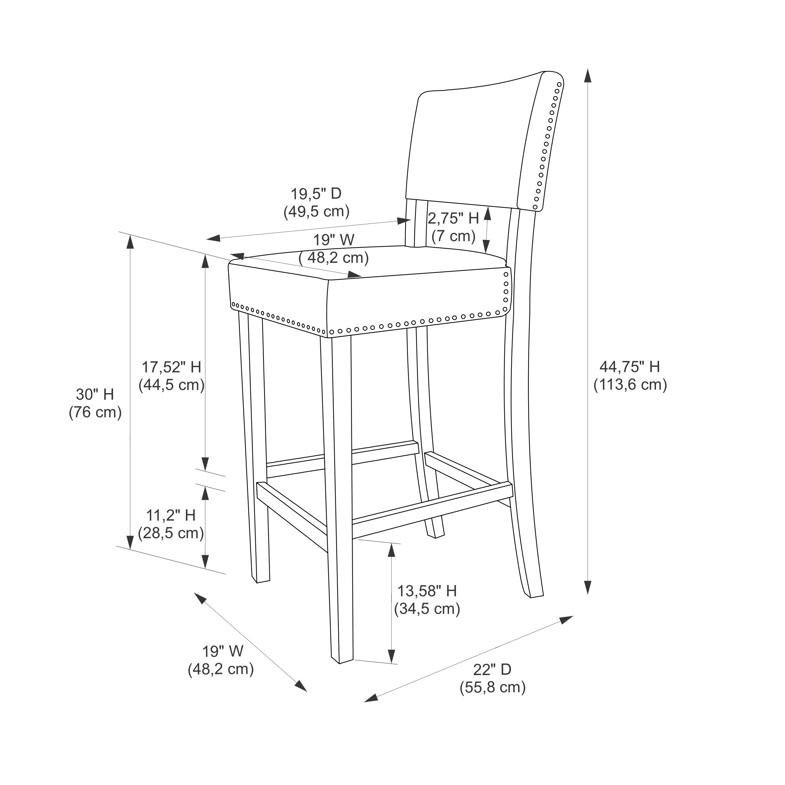 Bar Stool Drawing At Getdrawings Com Free For Personal