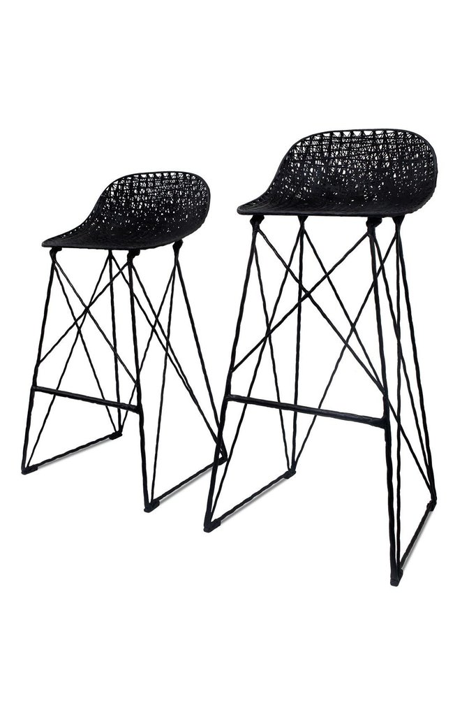 682x1023 Carbon Counter Bar Stool By Moooi The Modern Shop