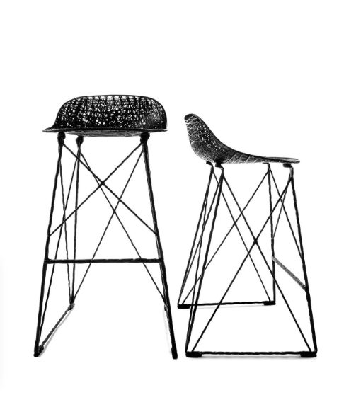 503x582 Carbon Counter Bar Stool By Moooi The Modern Shop