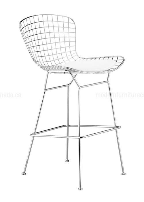 500x700 Zuo Modern Wire 27.5 Bar Chair (Set Of 2