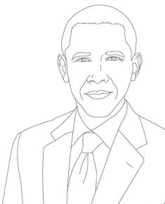 235x290 Barack Obama Coloring Page Purple Kitty Coloring Sheets