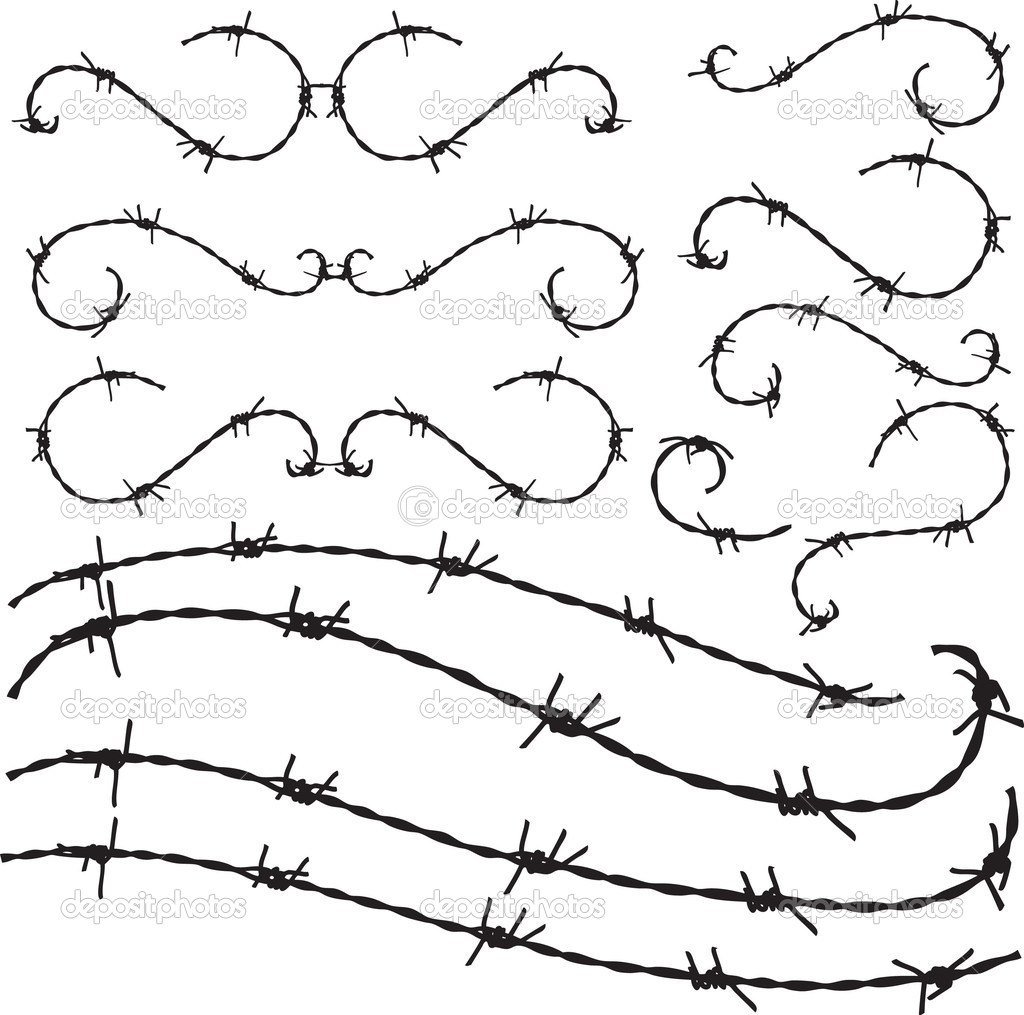 1024x1015 Floral Style Barbwire Ornament Illustration Dremel Tool