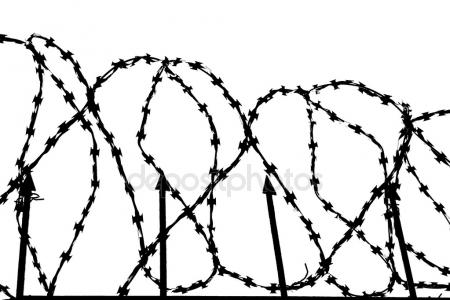 Line Drawing Net : Barbed wire drawing at getdrawings.com free for personal use