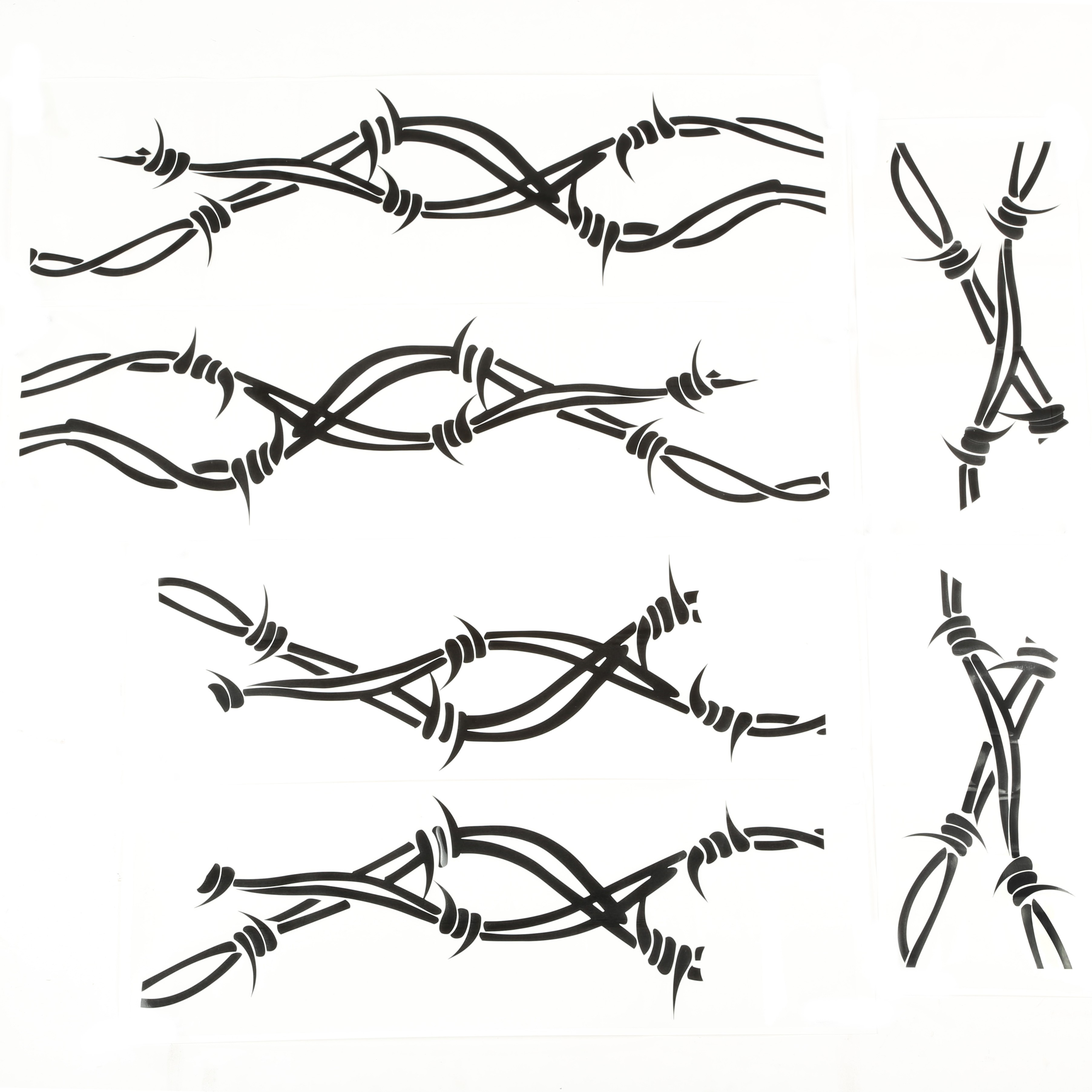 Barbed wire drawing at getdrawings free for personal