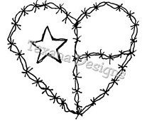 Barbed Wire Drawing at GetDrawings.com   Free for personal use ...