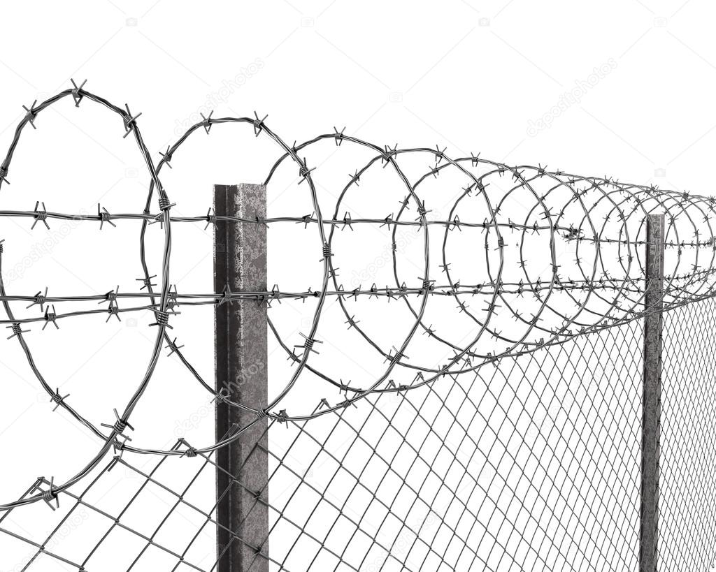 barbed wire fence drawing at getdrawings com