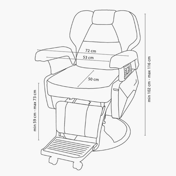 600x600 Direct Salon Furniture Limo Barbers Chair Direct Salon Furniture